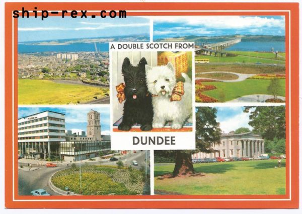 Dundee - multiview postcard